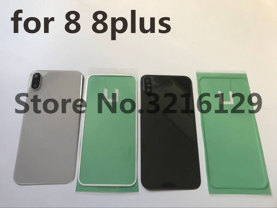 10pcs Original for iphone 8 8plus Back Battery Cover Rear Glass Housing Case Camera Adhesive Sticker Repaor Replacement Part in Mobile Phone Housings Frames from Cellphones Telecommunications