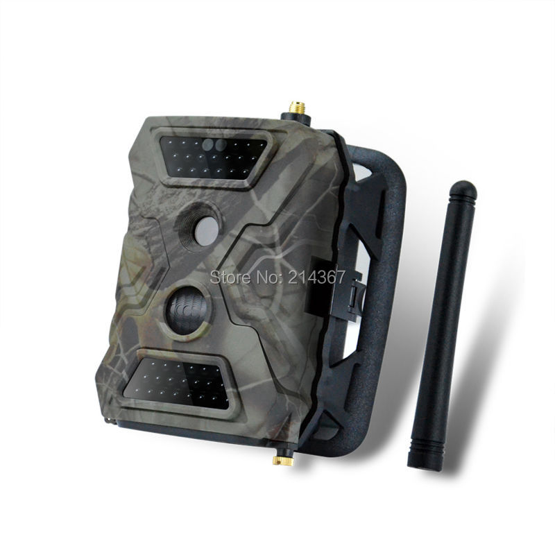 2.6CM GPRS Wild Cameras 1080P HD Outdoors Hunting Game Cameras GSM MMS Trail Cameras Free Shipping ...