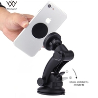 XMXCZKJ Universal Phone Car Holder Magnetic Holder 360 Rotation Dashboard Suction Cup Mount Mobile Stand For