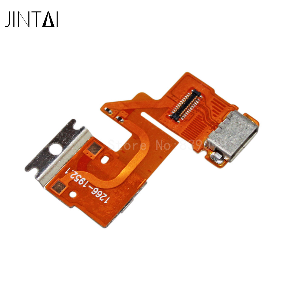 100PCS Jintai NEW USB Charging Dock Port DC Jack Flex Cable For Sony Xperia Tablet Z SGP311 SGP312 док станция sony dk28 tv dock