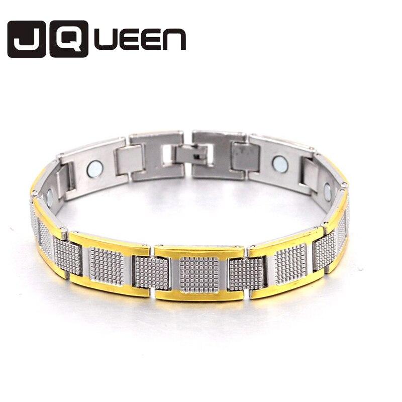 Panic buying Health Mens Bracelet Magnetic Bracelet single row Copper Wristband Charm Bracelet Fashion Jewelry for gift