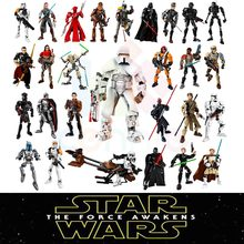 28 styles KSZ Star Wars Rogue One Toys Jango Phasma Jyn Erso K-2SO Darth Vader General Grievous Figure toy building blocks TOYS(China)