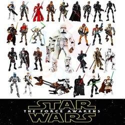 28 estilos KSZ Desonestos Um Brinquedos de Star Wars Jango K-2SO Darth Vader General Grievous Figura blocos de construção Compatível com lego