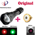 UniqueFire Mini Flashlight T20 Cree Q5 38mm Convex Lens Blacklight Lampe Torche+Drop-in IR 850NM Led Pill For Hunting