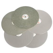 Алмазные абразивные диски с зернистостью 200 мм, зернистость 60 3000, 8 дюймов
