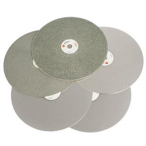 "Image 1 - 8 ""אינץ 200mm חצץ 60 3000 גסות עדינות יהלומי גלגלים שוחקים טחינת גלגל דיסק מצופה שטוח חיק דיסק מלטש יהלומים לאבן"