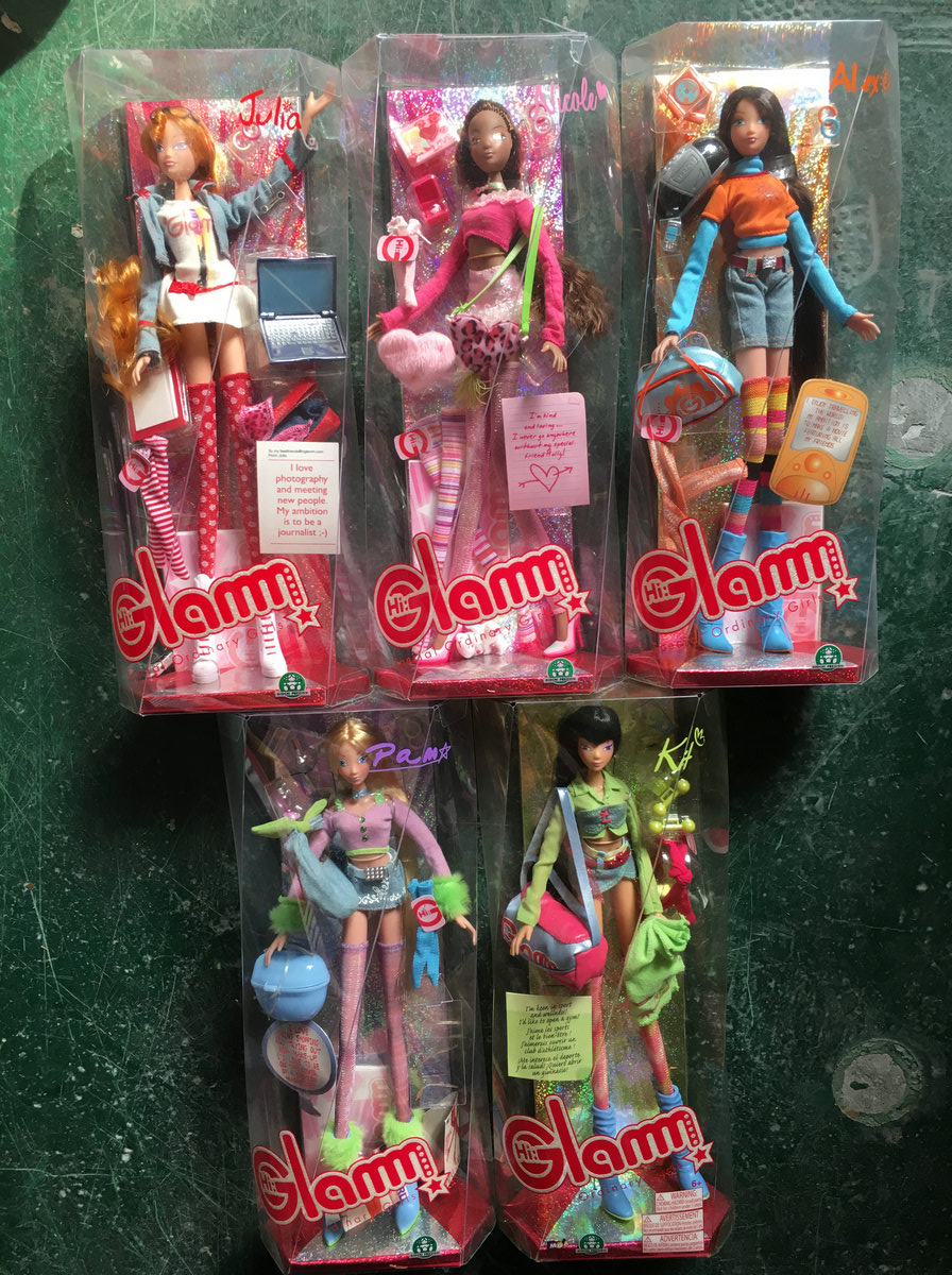 RARE Hi Glam Fashion Doll Pam Alex Julia Kit Collection Girl Gif toy ayres pam the pam ayres poetry collection