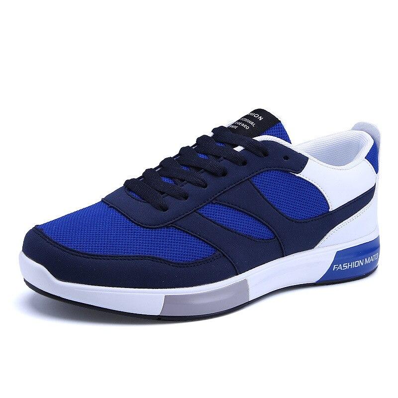 Homens Homem Moda Venda My8108012 De Designer azul Dos cinza Malha Sapatilhas Quente Respirável Sapatas Preto RqxX51z