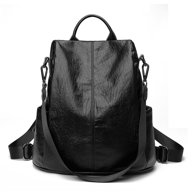 Women Backpack Genuine Leather Bags Famous Brand Backpacks For Teenage Girls Real Leather Fashion Backpacks Female 2019 C754