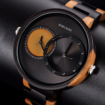 BOBO BIRD Ultra Thin Unisex Original Wood Watch