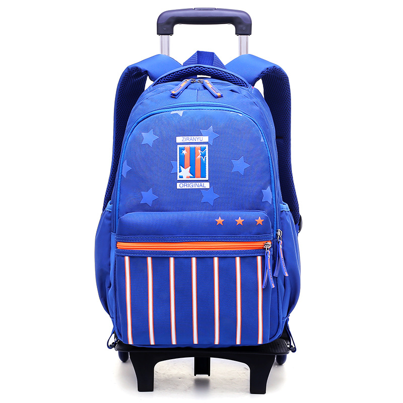 Removable Children School Bags boys Girls Trolley school Backpack Kids Wheels schoolbags Wheeled Bag Bookbag travel luggage bags ...