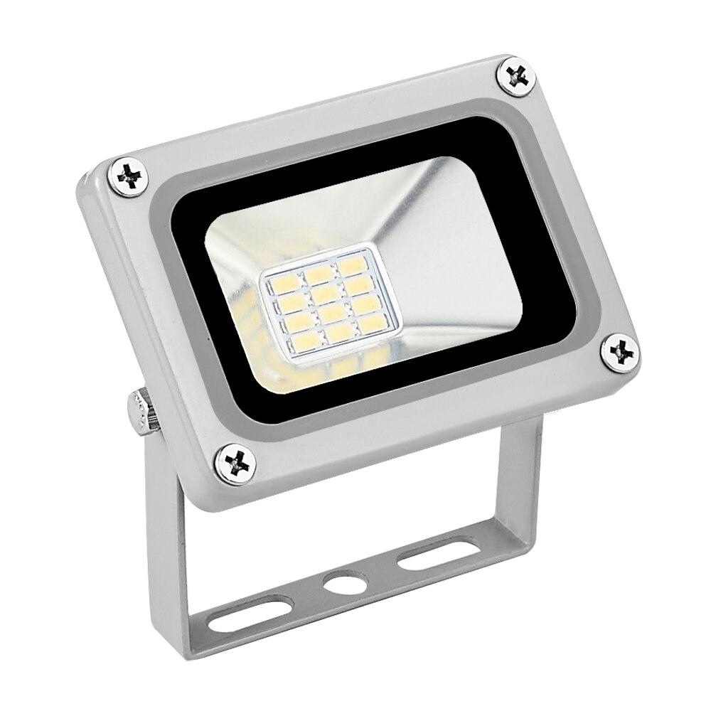 DC 12V 10W LED peyzaj aydınlatması sel gece işık açık spot 700LM 6000-6500K IP65 su geçirmez SMD 5730 çim lambası
