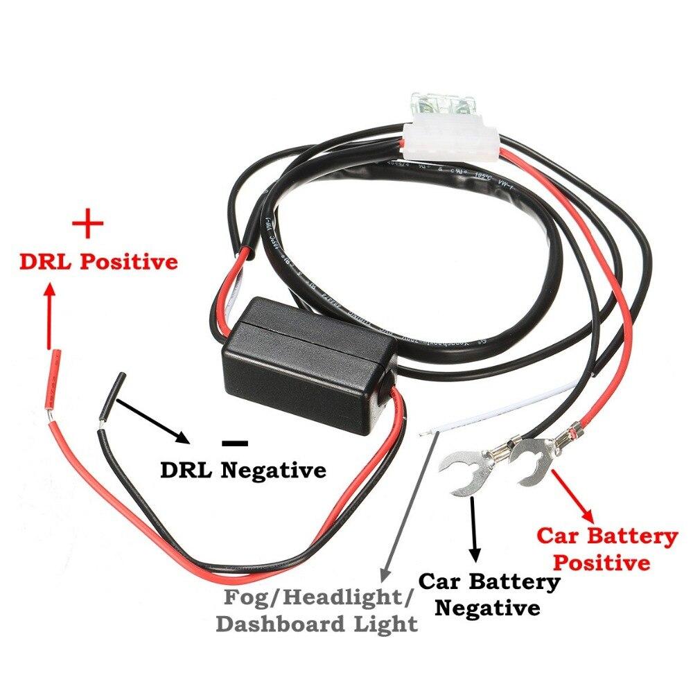 Drl Relay Harness Wire Center Australialightswitchwiringaustralialightswitchwiringdiagram 12v 2a Car Led Daytime Running Light Auto Rh Aliexpress Com