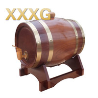 XXXG//1.5L Oak barrels Red wine barrels Wine barrel Kegs Wine barrel for Home bar Winery Restaurant Decoration 1.5L