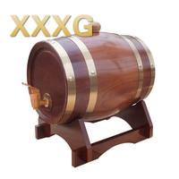 XXXG//1.5L Oak barrels Red wine barrels Wine barrel Kegs Wine barrel for Home bar Winery Restaurant Decoration 1.5L