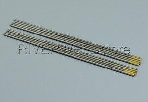 """Image 3 - 1.5% di Tungsteno Lanthanated Tungsteno Elettrodo di saldatura TIG WL15 oro 2.0*150 millimetri 5/64 """"x6"""" Tig Asta 10pcs"""
