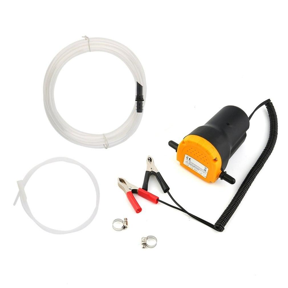 12 v Auto Motoröl Pumpe Motor Kraftstoff Öl Extractor Einfangen Saug Transfer Pumpe mit Schlauch für Auto Auto Boot motorrad Lkw