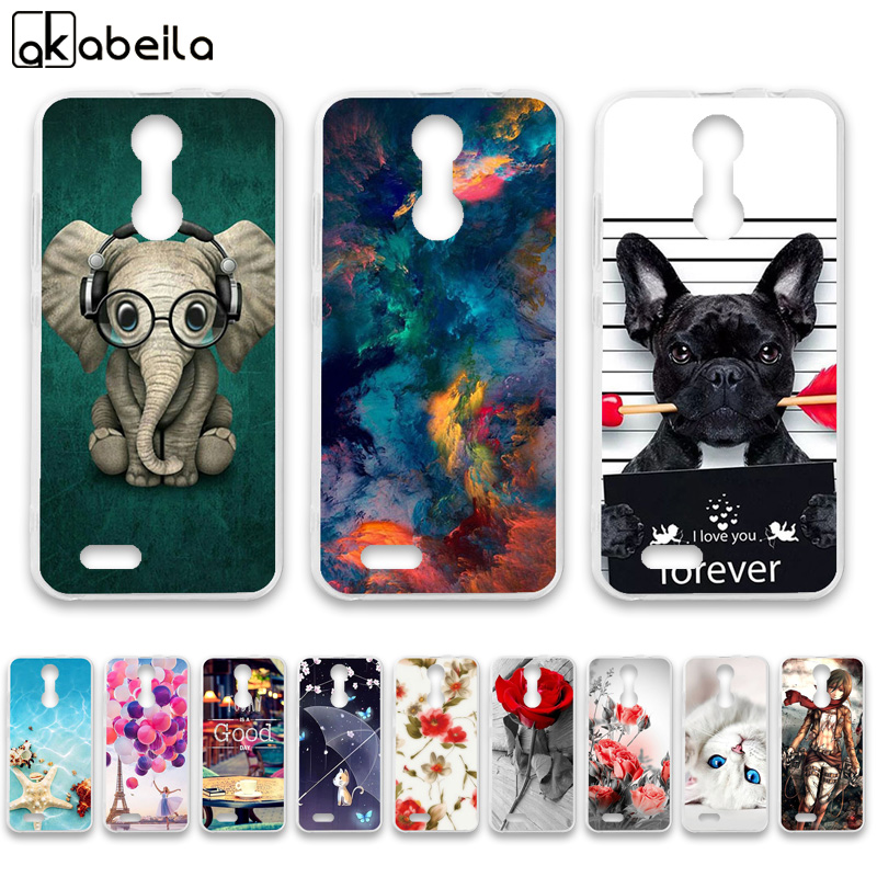 AKABEILA Case-Cover C8-Case Silicone Oukitel C8 for TPU Soft title=