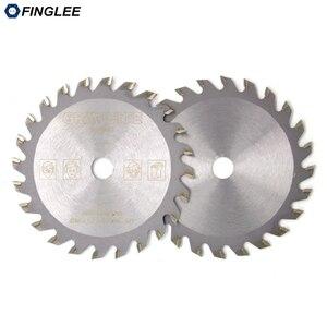 Image 3 - FINGLEE 1Pc 85mm TCT Houtbewerking Mini Cirkelzaag Blade Acryl Plastic Snijden Blade Algemene Purpose voor Hout