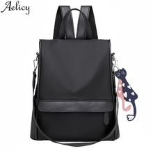 Aelicy 2019 Fashion Women Oxford Casual Zipper Backpack Wild Travel High School Student Ba