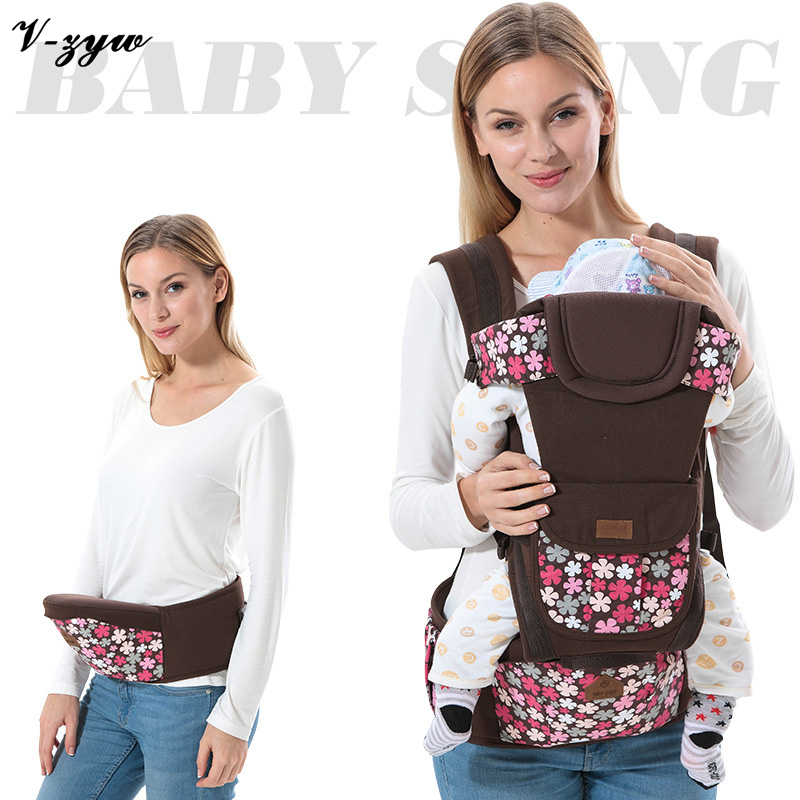Newborn Infant Baby Carrier Backpack Ergonomic  Breathable Adjustable Wrap Sling Front Back Activity Gear Suspenders GZ131