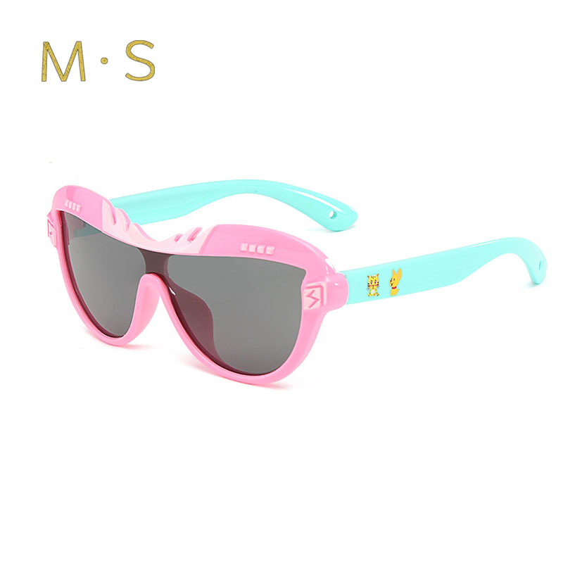 5826ef850 MS Child Sunglasses 2018 New 100%Polarized Brand Childrens Sun Glasses Baby  UV400 Protection Oculos Boy Girl Lovely N Kids-in Sunglasses from Mother &  Kids ...
