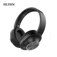 HLTON Foldable Wireless Headphone Bluetooth Headset Stereo Headphone Adjustable Earphone With Microphone For Iphone Android PC