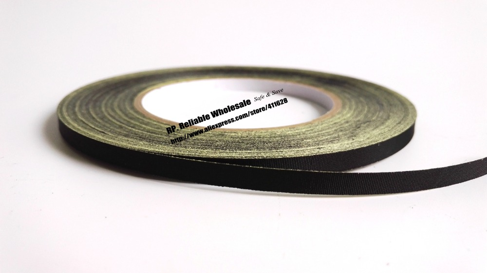 (8mm*30 Meters) Adhesive Insulation Acetate Tape Sticky for LCD Screen, Fan, Motor, Cable Fasten Repair Black, High Temperature