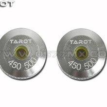 Обновление! 450 500 Вертолет Tarot металлический навес кольца комплект из 2 частей TL8024
