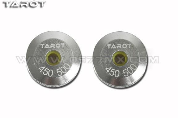 ¡Actualizar! 450 500 helicóptero Tarot Metal anillos de dosel conjunto 2piece TL8024