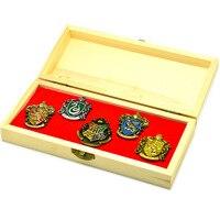 Harri Potter Cosplay Hogwarts School Insignias Gift Box Toys Harri Potter Magic World Decoration Toy Magic
