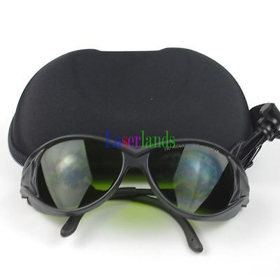 190-450nm&800-1700nm OD4+ Blue+IR Laser Protective Goggles Safety Glasses CE SK-4-S2 800nm 1700nm od4 900nm1100nm od5 laser protective goggles safety glasses 52