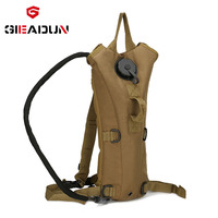 Outdoor mountaineering bag cycling riding sports water bag 3L tank battle field water bag backpack