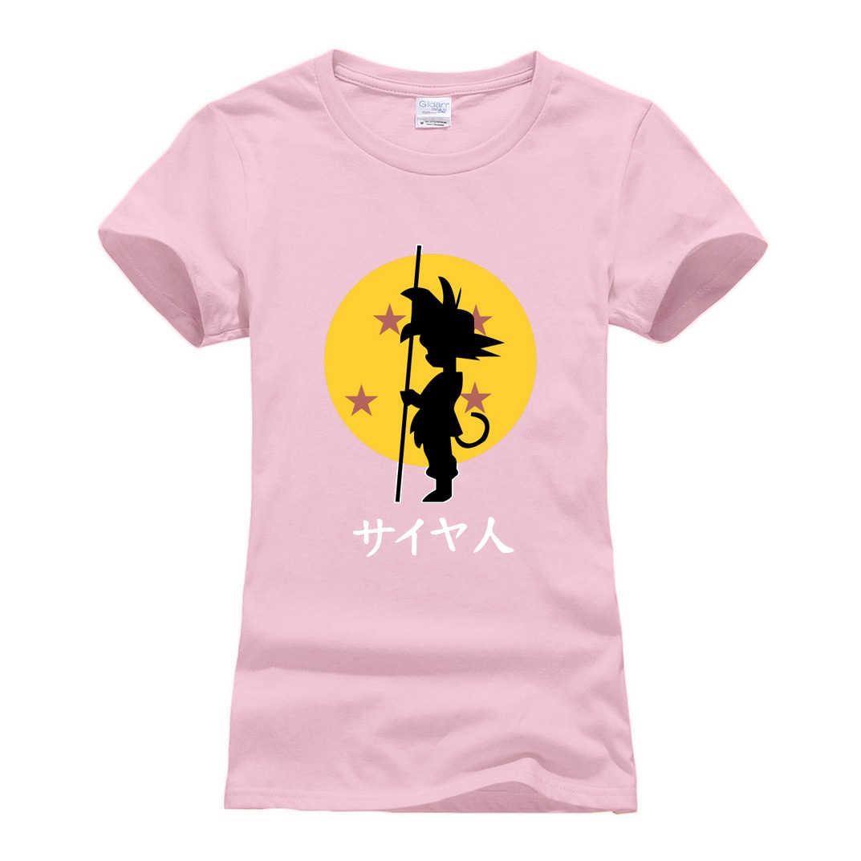 Hipster mulheres streetwear topos t roupas de marca camisa japonesa anime dos desenhos animados z casual t camisa 2018 verão