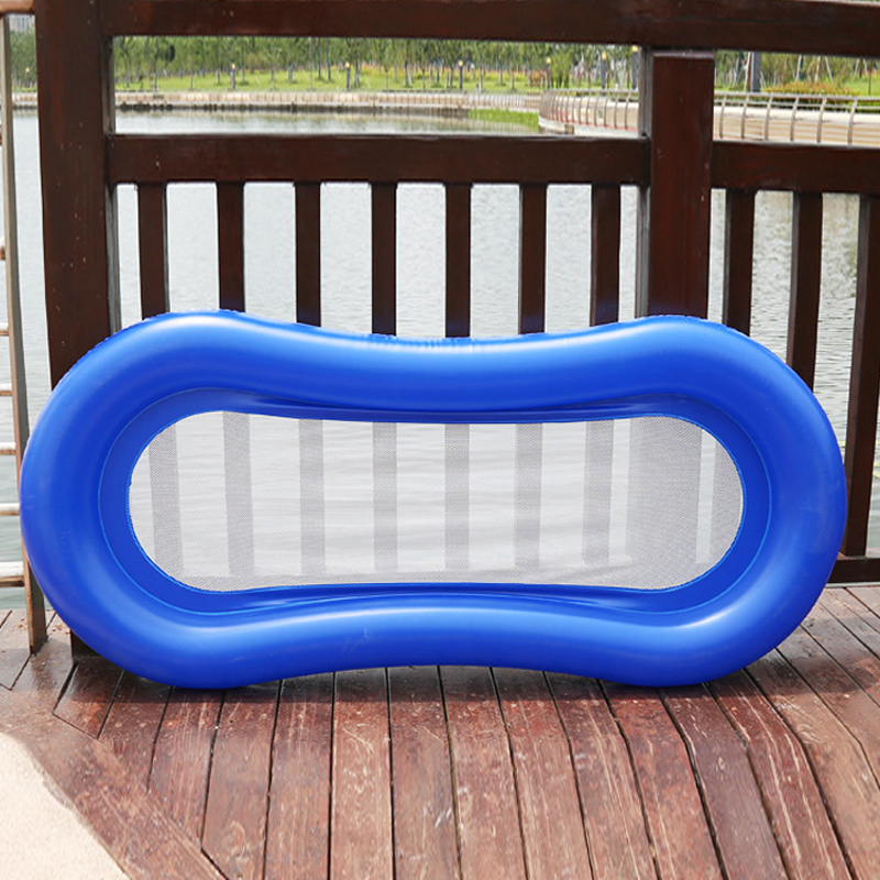 Inflatable Water Hammock Floating Bed Lounge Chair Drifter Swimming Pool Beach Accessories  WHShopping