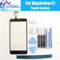 Blackview E7 Digitador Da Tela de Toque 100% de Garantia Original Painel de Digitador de Vidro Toque Substituição Para Blackview E7 + Ferramentas