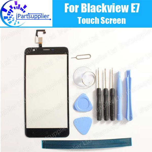 Blackview E7 Pantalla Táctil Digitalizador 100% de Garantía Original de Panel Táctil de Cristal Digitalizador Reemplazo Para Blackview E7 + Herramientas