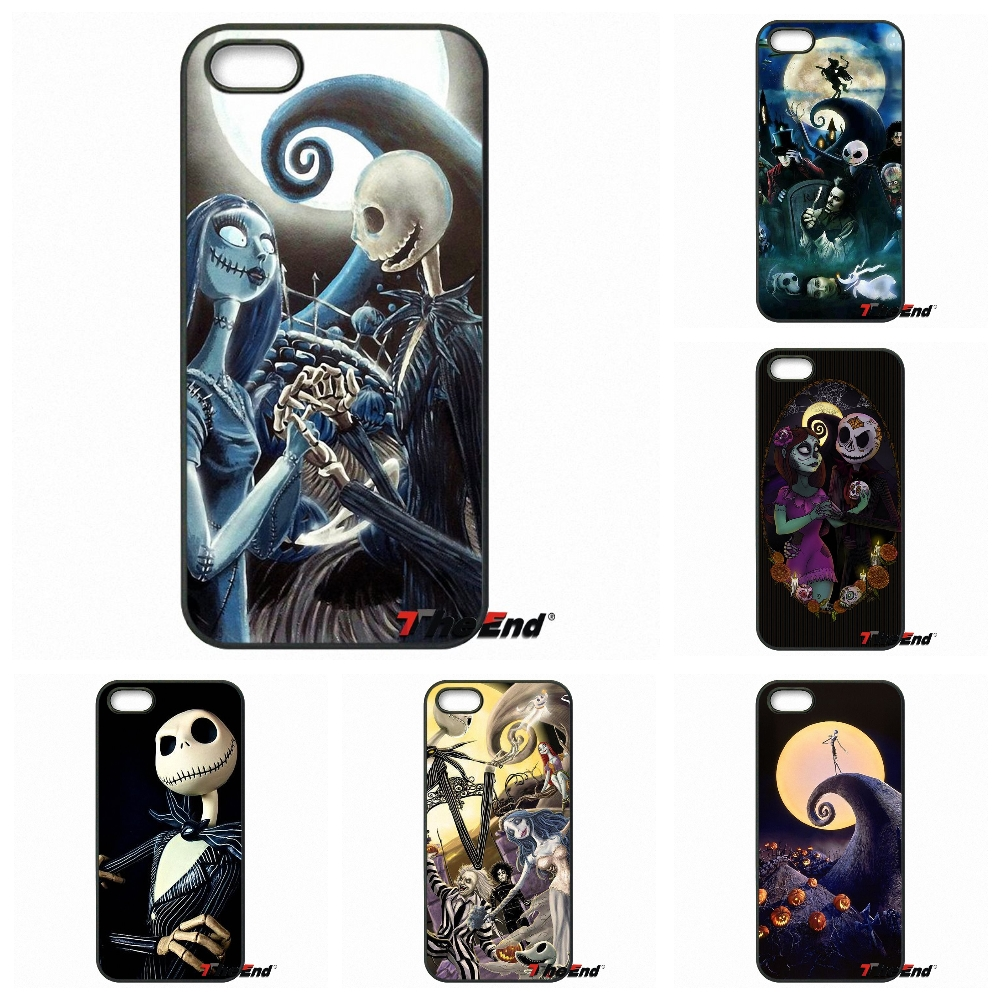 Nightmare Before Christmas Story Jack And Sally Case For Xiaomi Redmi Note 2 3 3S 4 Pro Mi4 Mi4C Mi5S Mi MAX iPod Touch 4 5 6
