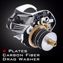 5.3:1 Gear Ratio Bait Casting Reel for Fishing