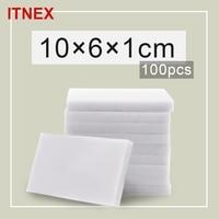 100*60*10mm 100 pcs Magic Sponge Eraser Kitchen Office Bathroom Clean Accessory/Dish Cleaning Melamine sponge nano wholesale-51