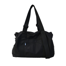 2019 Korean Fashion Large Capacity Women Travel Bags Black Casual Men Luggage Bag Waterproof Simple Unisex Hand Tote