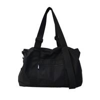 2019 Korean Fashion Large Capacity Women Travel Bags Black Casual Men Luggage Bag Waterproof Simple Unisex Hand Travel Tote Bag