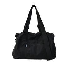 Корейская мода 2019 женские дорожные сумки большой емкости черные