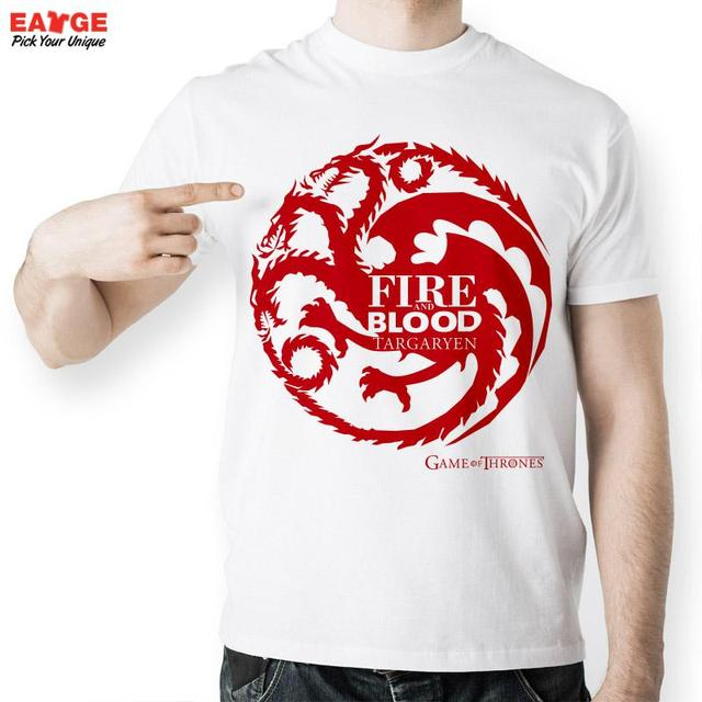 Fire and Blood Targaryen T-shirts