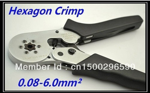 Mini-type Self-Adjustable Terminal Crimping Tool Bootlace Ferrule Crimper Wire end Cord end lug plier