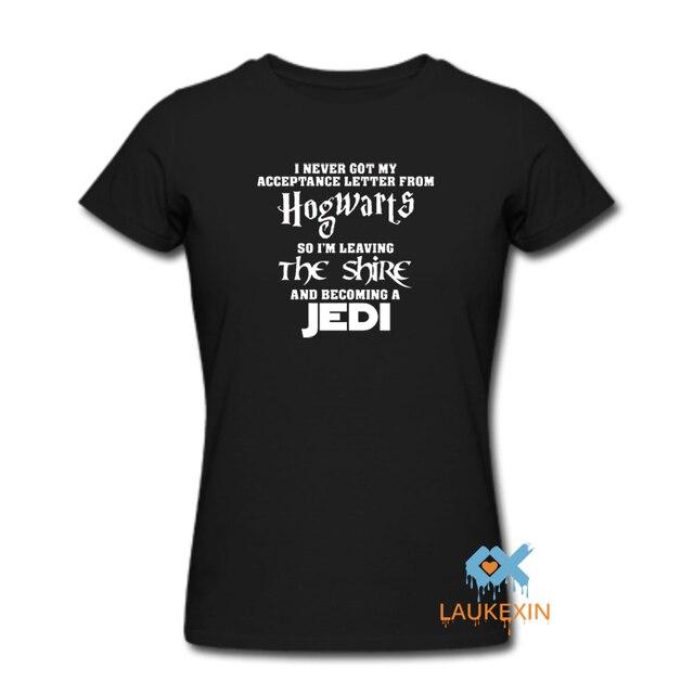 f83ec939e HOGWARTS Lord of the Rings JEDI Star wars The Hobbit funny t-shirt t shirt  Print kawaii Graphic Tee Shirt short sleeve women men