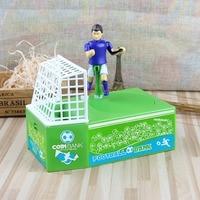 Plastic Children Piggy Bank Creative Player Shoot Coin Storage Box Electronic Piggy Bank Cash Coin Can