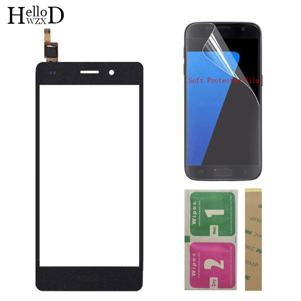 Touch Screen TouchScreen For HuaWei P8 Lite P8Lite Touch Glass Front Glass Digitizer Panel Lens Sensor + Protector Film 3M Glue