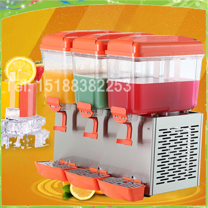 45L three cylinder Cold and Hot Drink machine Beverage juice dispenser