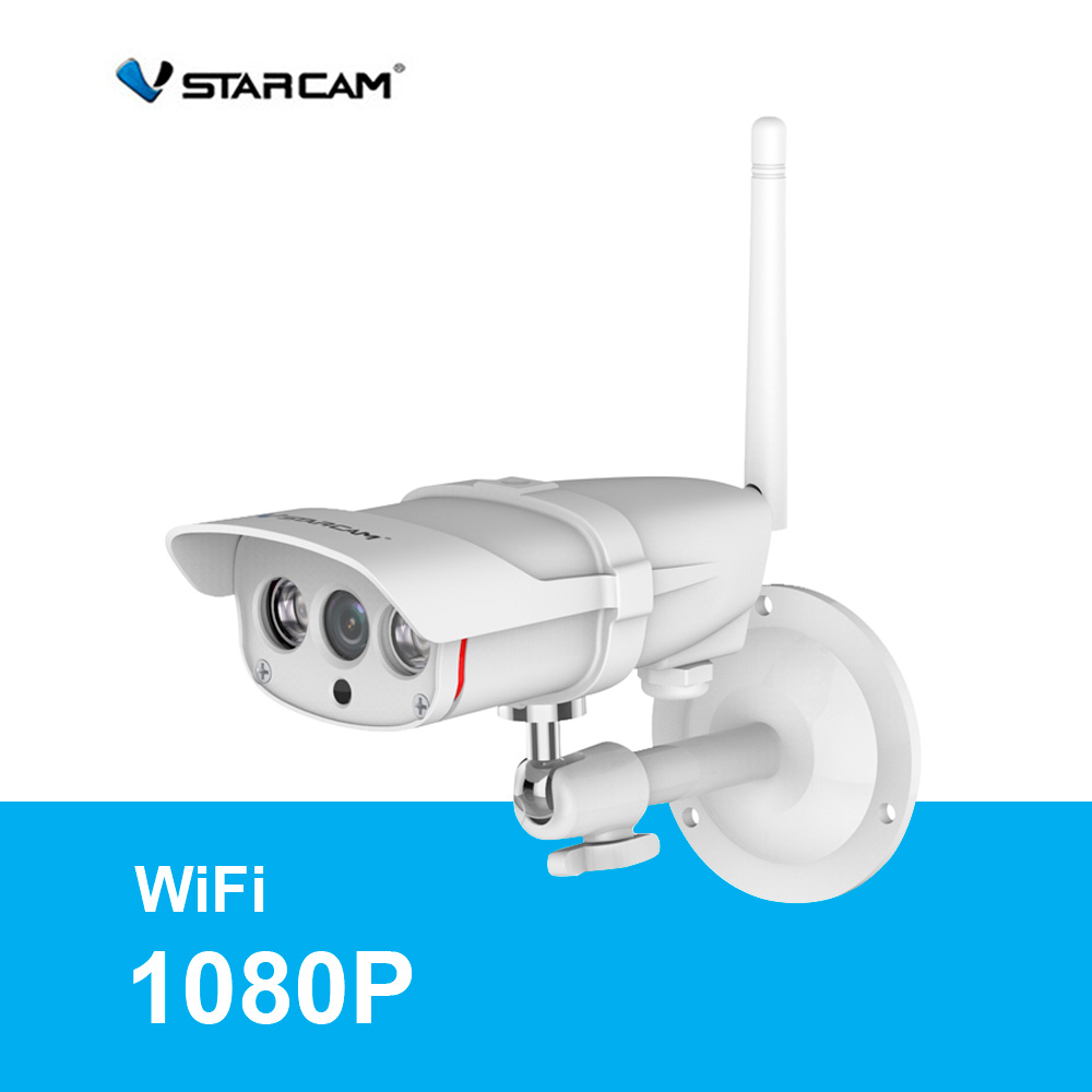 Vstarcam C16S IP Camera HD 1080P CCTV Surveilance Wireless Outdoor Security Camera Waterproof IP67 IR-Cut Support 128G TF Card vstarcam c7815wip 720p hd wireless bullet wifi ip camera outdoor security waterproof cctv compatibility and support 128g tf card
